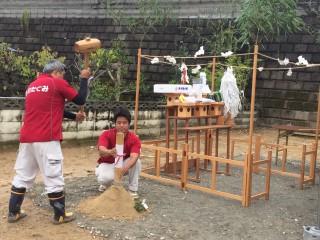 池田様地鎮祭2