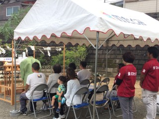 池田様地鎮祭